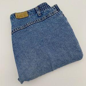 Vintage Lee Acid Wash Denim Jeans